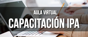 Aula Virtual Capacitación IPA